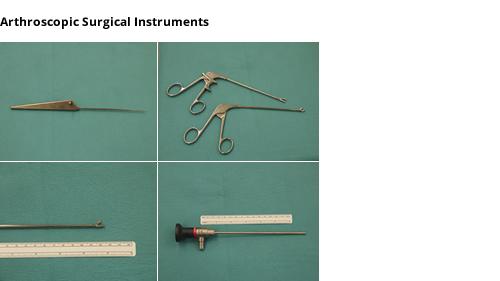 Procedure for arthroscopic knee surgery