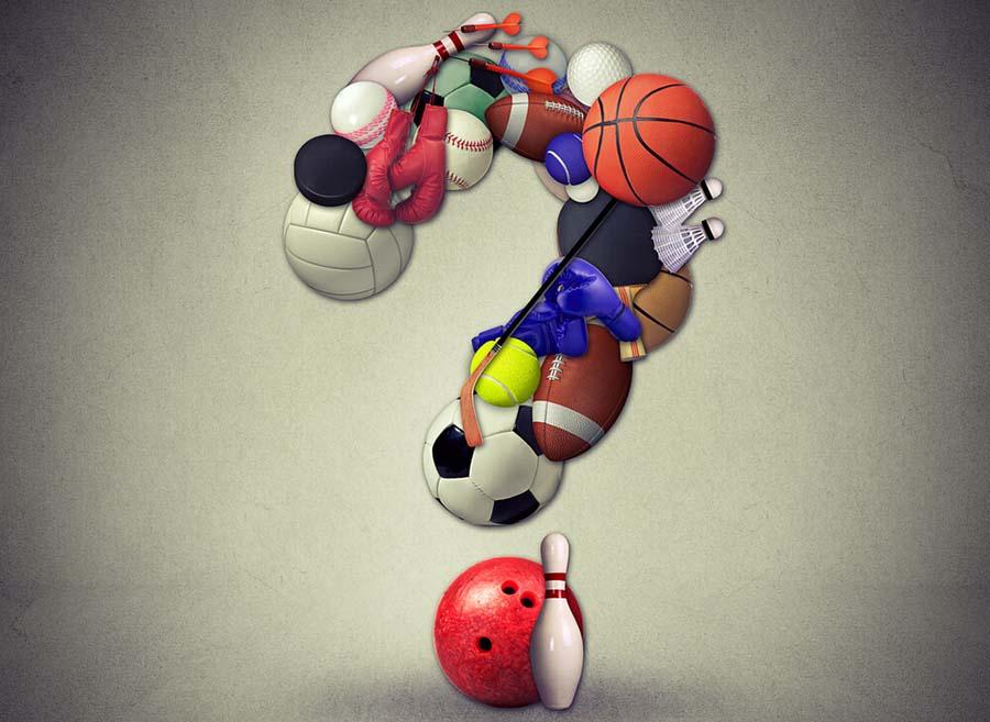 Range of Sporting Equipment