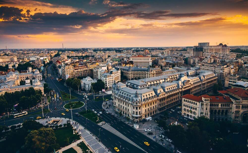 Bucharest in Romania