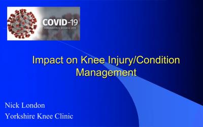 Webinar: Knee Injury/Conditions Post-COVID