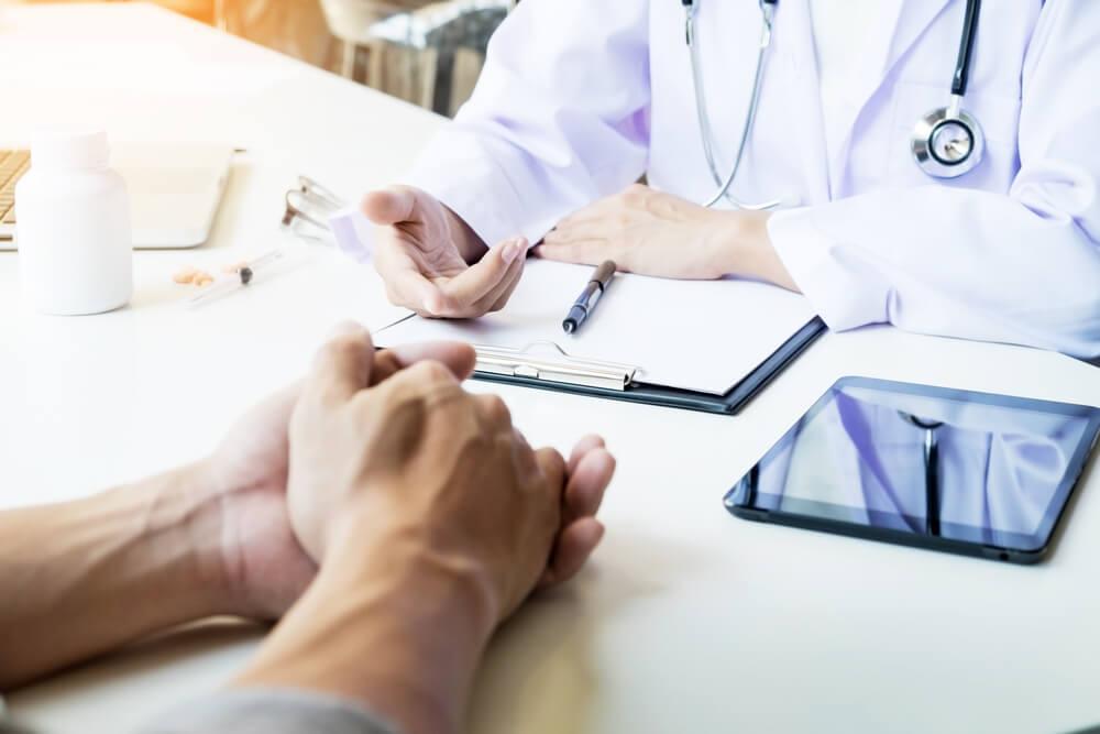 Doctor & patient consultation