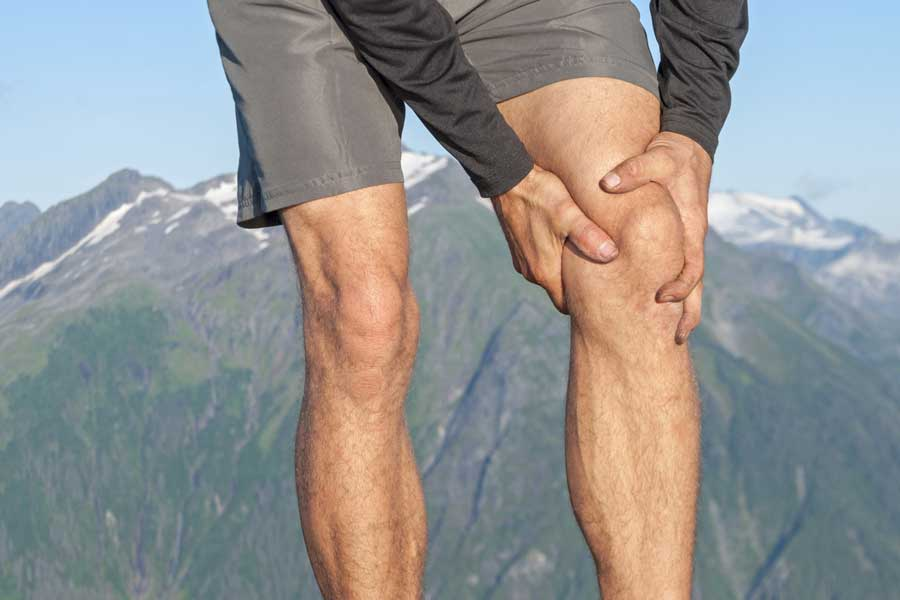 Partial or total knee replacement