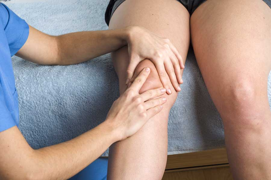 Patellar mobilization treatment