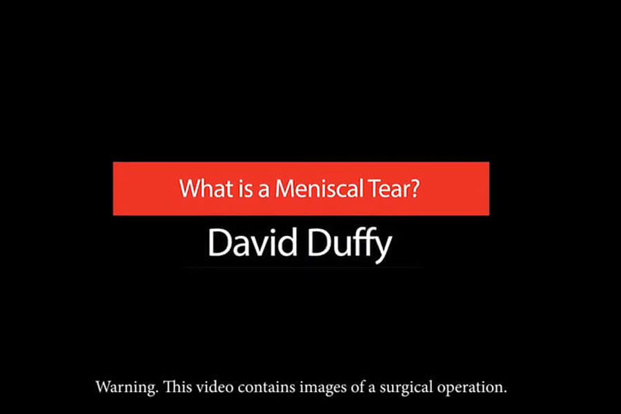 Video: What Is A Meniscal Tear?